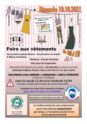 Foire aux vêtements, puériculture de Cires-lès-Mello