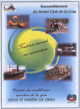 Salon de la maquette, du modélisme de Saint-Martin-de-Crau