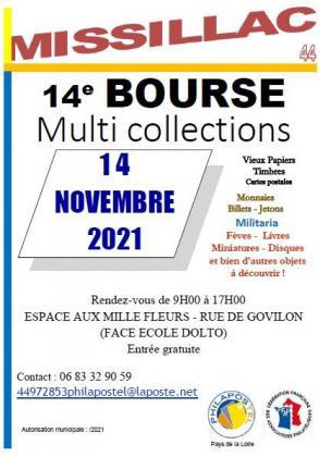 Bourse multicollections de Missillac
