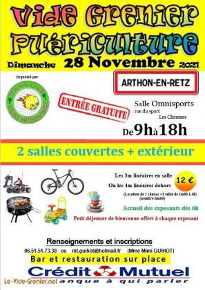 Vide grenier puériculture - Arthon-en-Retz