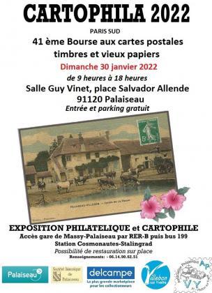 CARTOPHILA 2022 de Palaiseau