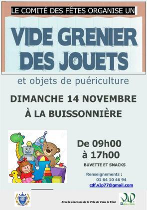 Bourse aux Jouets de Vaux-le-Pénil