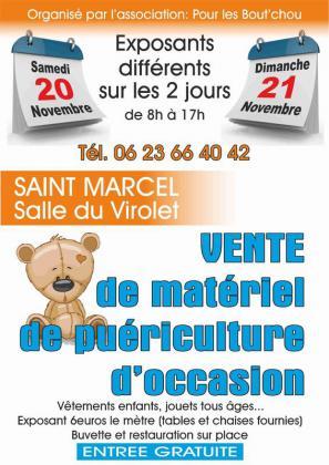 Vente de matériel de puériculture - Saint-Marcel