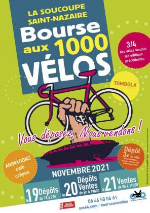 Bourse aux 1000 vélos de Saint-Nazaire