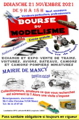 Bourse du modélisme et jouets anciens de Mancy