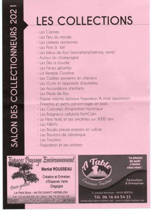 Exposition des Collectionneurs de Saint-Mars-la-Jaille