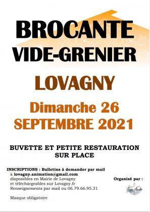 Vide-Grenier Brocante à Lovagny le 26 septembre 2021