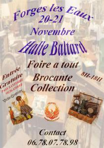 Foire à tout - brocante - collections de Forges-les-Eaux