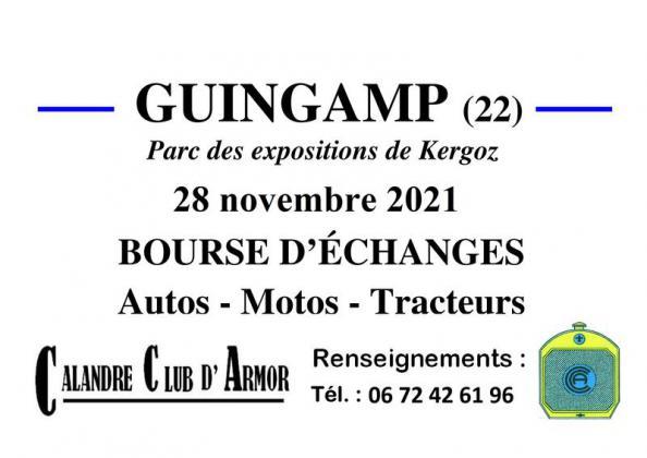 Bourse d'échanges de Guingamp