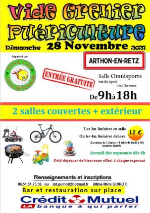 Vide grenier puériculture de Chaumes-en-Retz