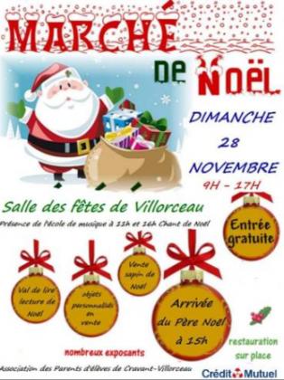 Marché de Noël de Villorceau