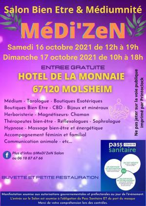 Salon Bien-Être et Médiumnité - MéDi'ZeN de Molsheim