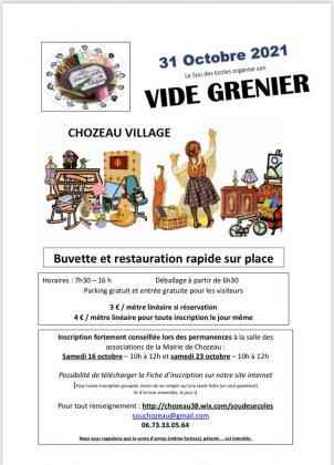 Vide-Greniers de Chozeau