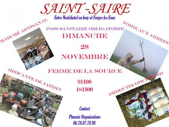 Foire aux arbres et végétaux de Saint-Saire