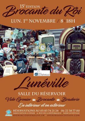 Brocante - Vide-Greniers de Lunéville