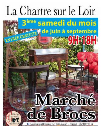 Marché de brocs de La Chartre-sur-le-Loir