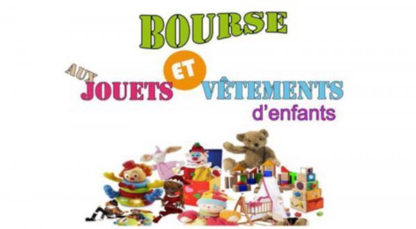Bourse aux jouets, puériculture de Potigny