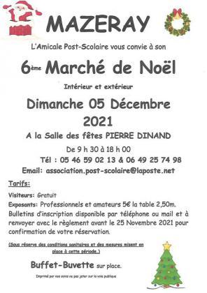 Marché de Noël de Mazeray