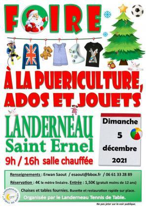 Grande foire à la puériculture et aux jouets de Landerneau