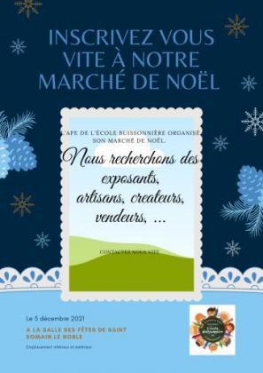 Marché de Noël de Saint-Romain-le-Noble