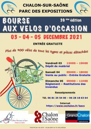 Bourse aux vélos d'occasion de Chalon-sur-Saône