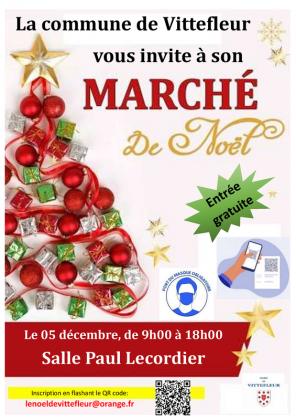 Marché de Noël de Vittefleur