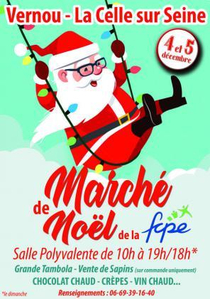 Marché de Noël de Vernou-la-Celle-sur-Seine