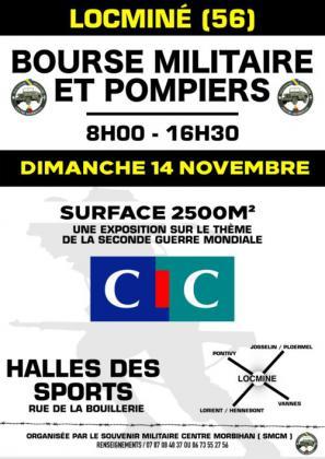 Bourse militaires et pompiers de Locminé