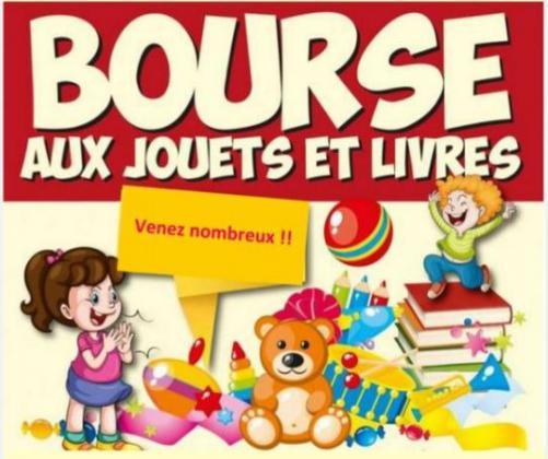 Bourse aux jouets, livres de Saint-Quay-Perros