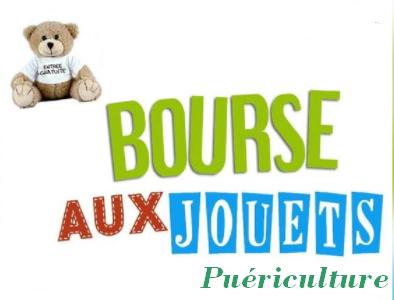 Bourse aux jouets, puériculture de Saint-Benoît