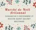 Marché de Noël de Roche-Saint-Secret-Béconne