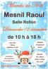 Marché de Noel artisanal de Mesnil-Raoul